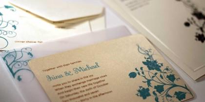 Irina & Mike Invitations