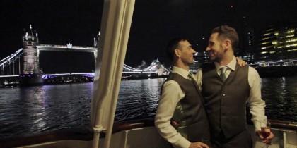 Darren & Georgios in London