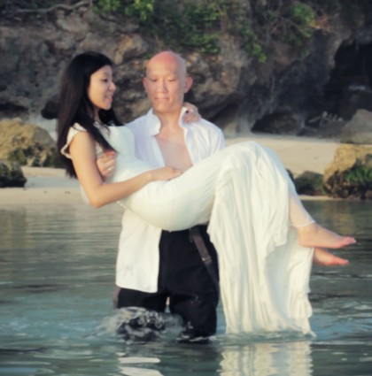 Christine & Zhu in Bali