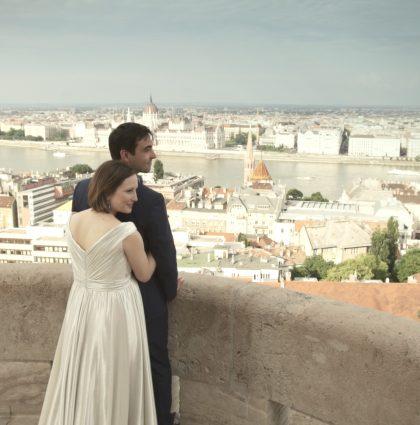 Vicky & Tristan in Budapest